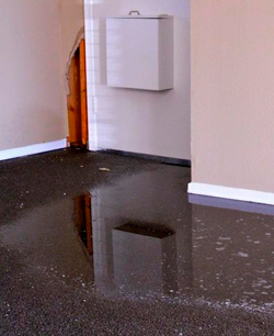 Water Damage in Orlando | leak